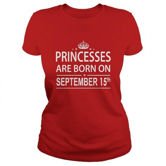 Awesome Tee 0915 September 15 Birthday princess born Shirts T Shirt Hoodie Shirt VNeck Shirt Sweat Shirt Youth Tee for Girl and Men and Family Shirts & Tees