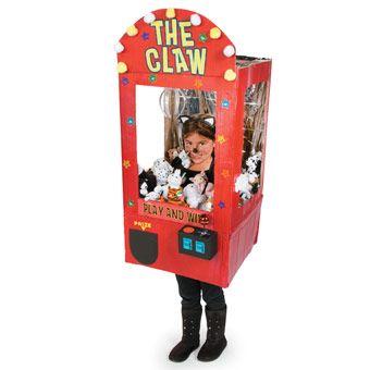 Claw Machine Costume - Free-N-Fun Halloween from Oriental Trading