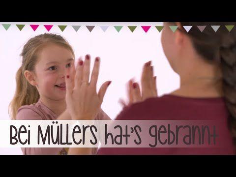 Bei Müllers hat's gebrannt | Klatsch-Spiel Anleitung - YouTube