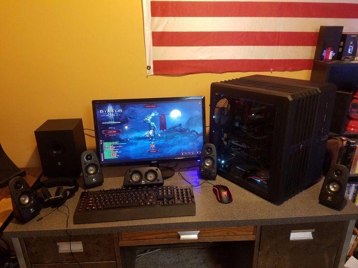 AMD Gaming PC Setup