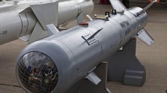 bombă ghidată cu focoase