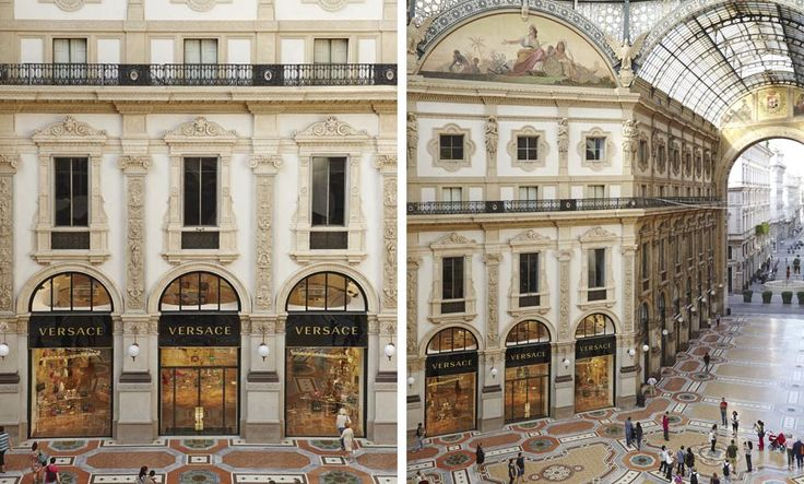 Versace's new Galleria Vittorio Emanuele II store | Fashion | Wallpaper* Magazine