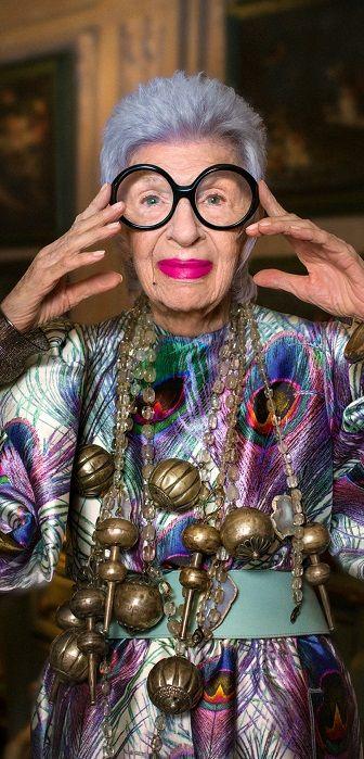 """Dix instants, dix silhouettes, dix citations et une femme - """"Having fun is the best revenge, oh la là!"""" - """" S'amuser c'est la meilleure des revanches - oh là là ! """" #LeBonMarche #VuAuBonMarche #IrisInParis #IrisApfel #mode #fashion #PE16 #SS16"""