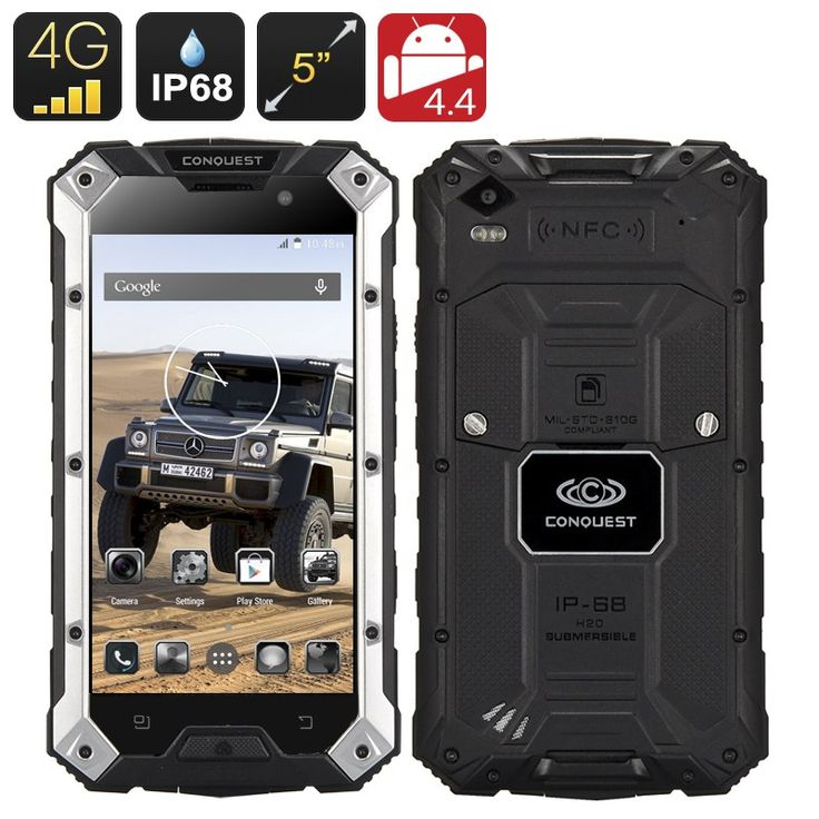 Conquest S6 Plus Rugged Smartphone