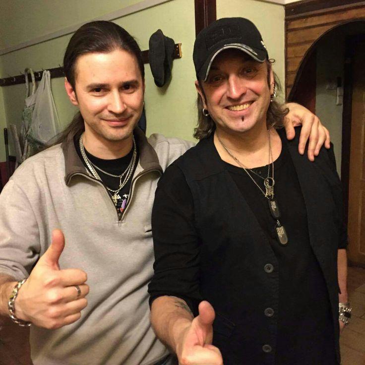Артур Беркут и Александр Васьковский. Отличное начало выходных в компании наших дорогих друзей) Москва, Ресторан Швайн, Февраль 2017 год.