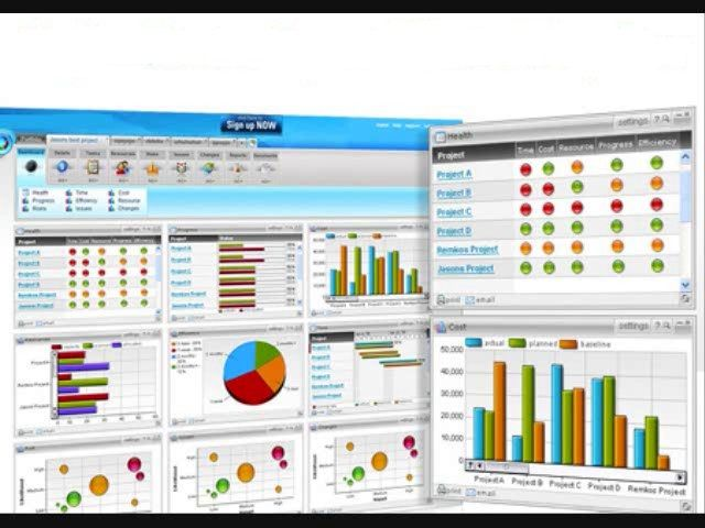 600 best excel project management templates for business for Managing multiple projects template