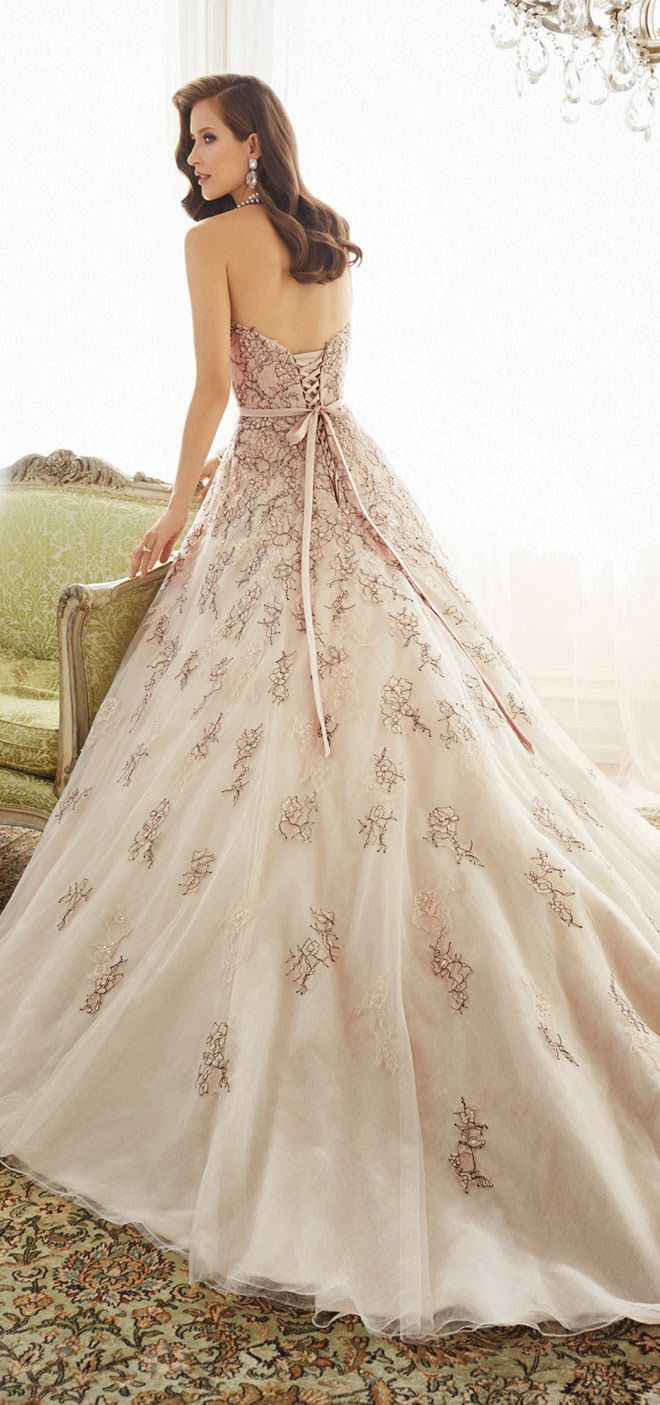 Sophia Tolli 2015 Bridal Collection - Belle the Magazine . The Wedding Blog For The Sophisticated Bride