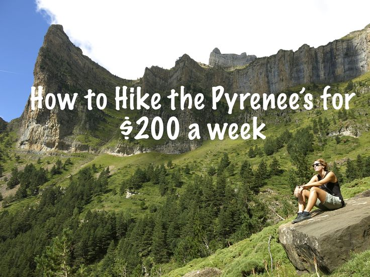 Usually associated with wealth and prestige, we were shocked when we found out we could hike the Spanish Pyrenees on a budget. Here's how.