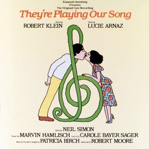 Robert Klein - Lucie Arnaz - They're Playing Our Song Original Cast Musical CD