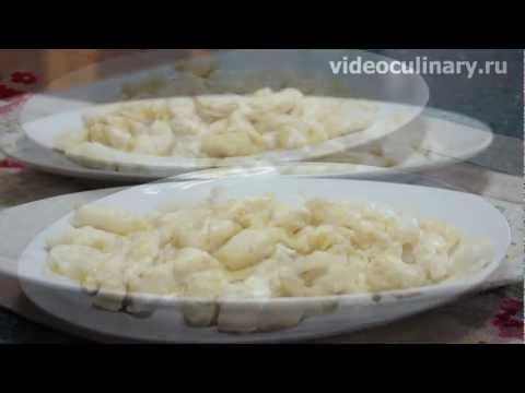 Рецепт - Ленивые вареники с творогом от http://videoculinary.ru Бабушка Эмма