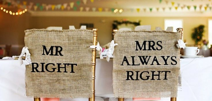 25 awesome wedding chair signs for bride and groom chairs