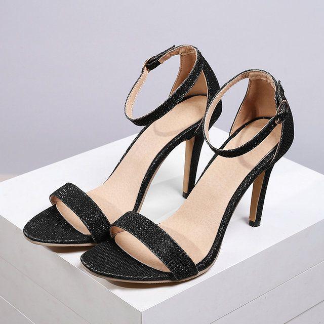 Coolcept Mujer Moda Correa EN T Sandalias Punta Abierta Planos Zapatos With Bowknot Chicas Colegio (32 EU, Gold)