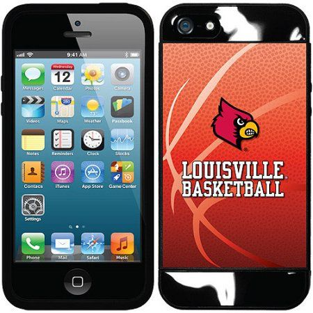 University of Louisville Basketball Design on Apple iPhone 5SE/5s/5 New Guardian Case by Coveroo