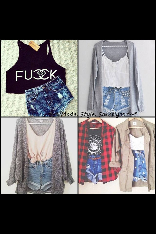 Edgy outfits
