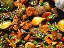 Älggryta med smörfräst svamp (kock recept.nu)