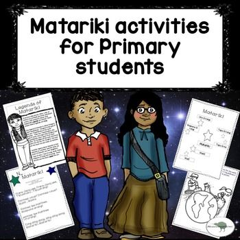Looking for easy to use Matariki resources? Want something you can mix and match? ****click preview for a look****Have a look here:4 Reading comprehensions Suitable for independent reading for Gold readers plus or suitable for shared reading.Songs Twinkle, twinkle little star in Maori and 'Nga Whetu o Matariki' , a song about the names of the Maori stars.