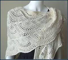 angel wings prayer shawl crochet pattern - Google Search