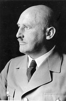 Julius Streicher lors du procès de Nuremberg