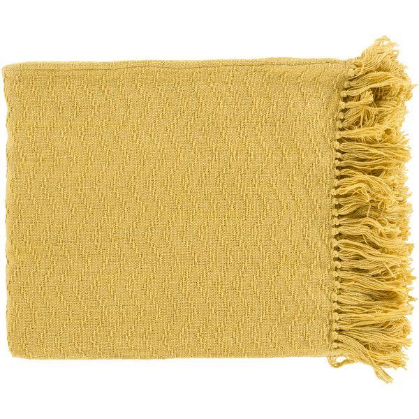 Living Room: Wayfair Yellow Throw Blanket