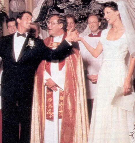 Jennifer Flavin & Sylvester Stallone Wedding