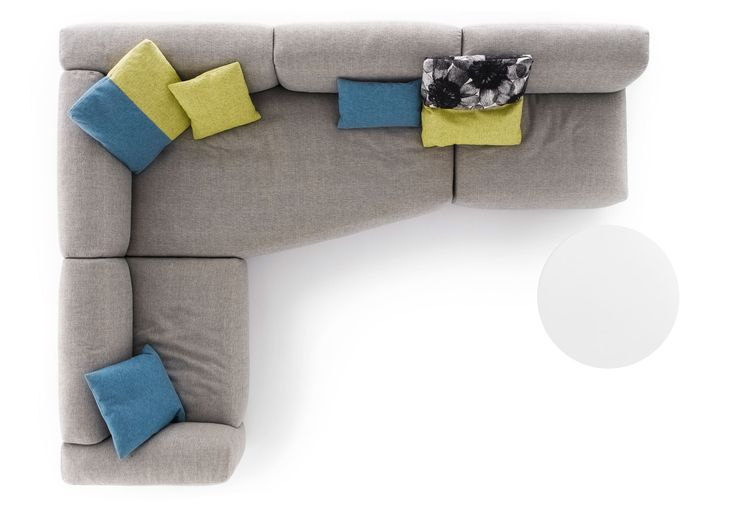 Sofa top view italia sofas design at pinterest for Chaise 5 5 designers
