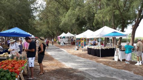 Beach Market at Coquina Beach, Anna Maria Island, Florida