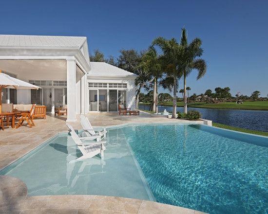 Tropical Pool. プールのインテリアコーディネイト実例