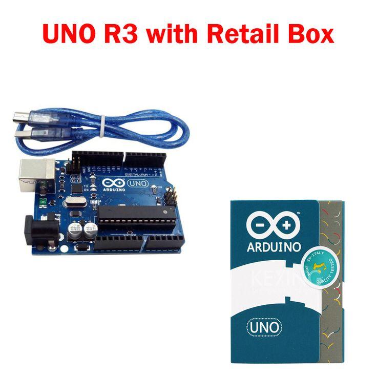 UNO R3 for arduino MEGA328P 100% original ATMEGA16U2 with USB Cable + UNO R3 Official Box //Price: $24.80 & FREE Shipping //     #hashtag3