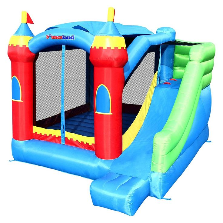 Bounceland Royal Palace Bounce House Inflatable Bouncer,