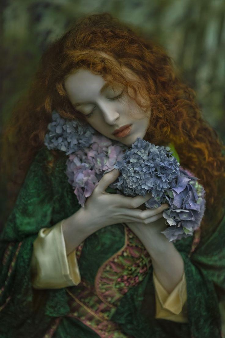 Photograph Innocence by Agnieszka Lorek on 500px  Forest maiden, fantasy, medieval