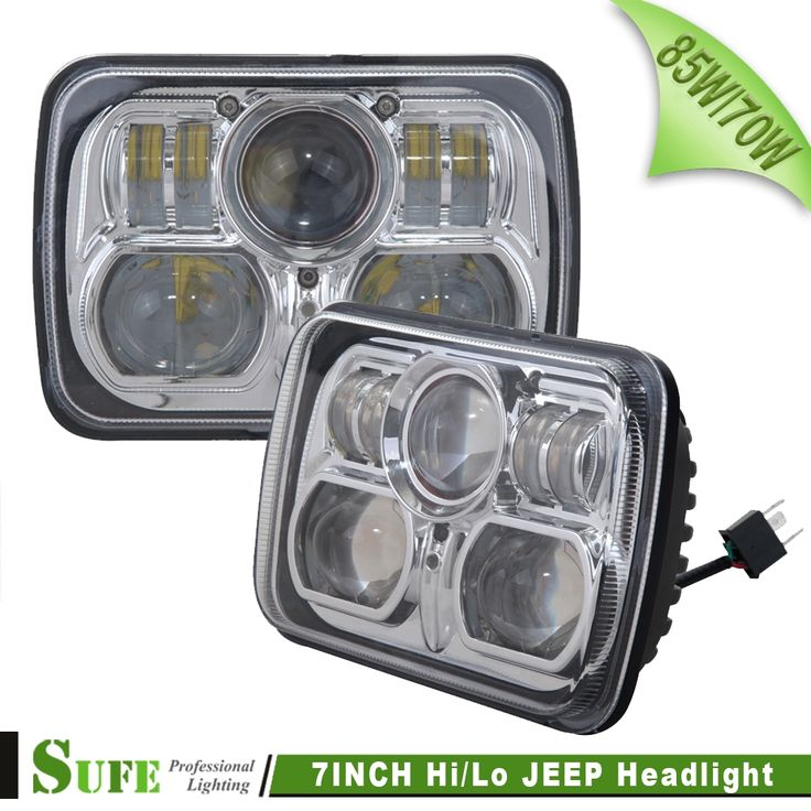 260.00$  Buy here - http://ali0eg.worldwells.pw/go.php?t=32345517714 - SUFE 2PCS 7INCH 85W / 75W LED HEADLIGHT FOR Truck Offroad WITH HI/LO BEAM REPLACEMENT KIT FOR MOTORCYCLE JEEP Wrangler