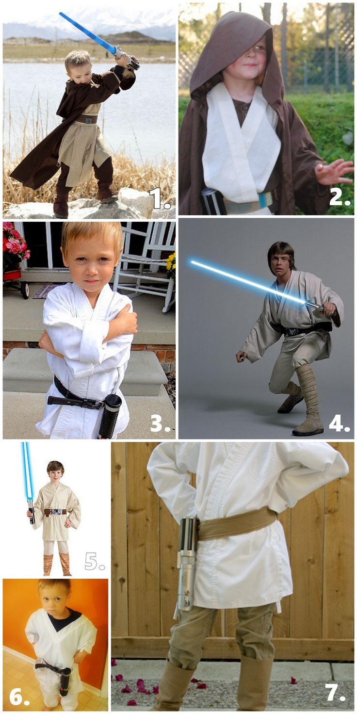 CHEAP LUKE SKYWALKER COSTUME INSPIRATION