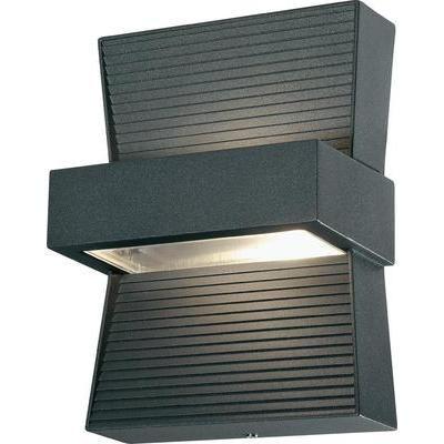 Renkforce Buiten LED-wandlamp 6 W Antraciet