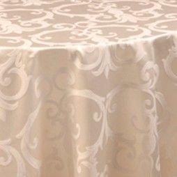 Chopin Parchment Scroll Damask