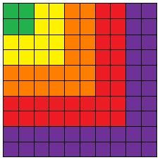 Color a one hundred square grid... Calculate decimal, fraction and percentage of each color. FUN!  http://www.learn-with-math-games.com/decimal-math-games.html#