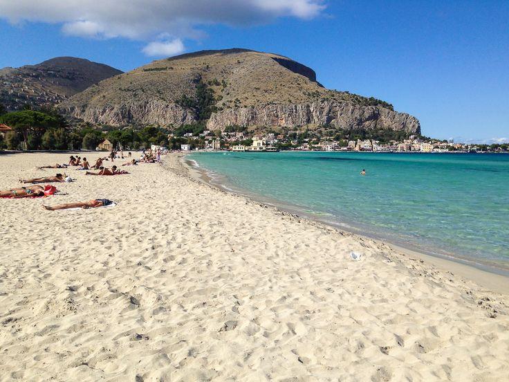 Mondello Lido The 5 best beaches in Sicily Pinterest