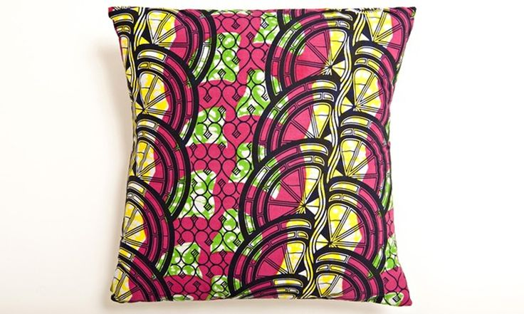 Brighten up your home with this easy envelope-style cushion cover – no zips, no fuss – adaptable to any size of cushion pad