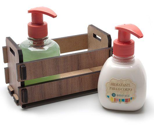 Remind: brindes promocionais : Kit Hidratante com Sabonete líquido para as Mãos