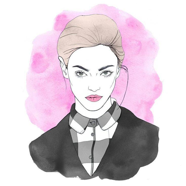 #portrait #drawing #illustration