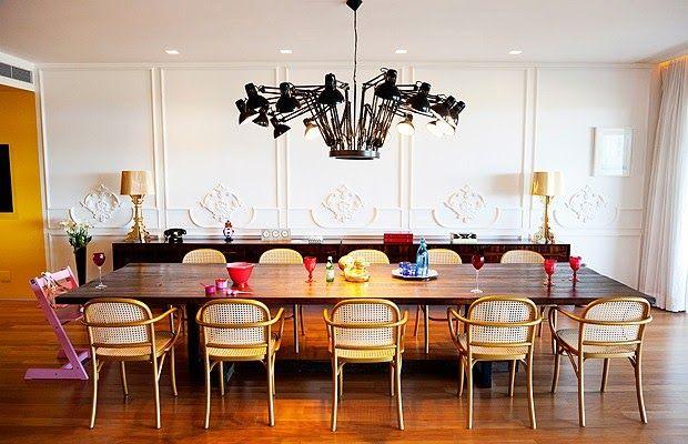 Decoração do apartamento de Flavia Alessandra