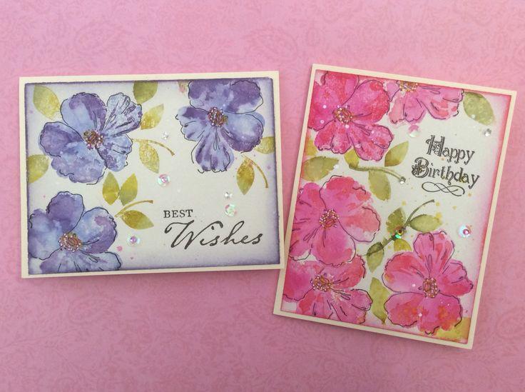 Birthday cards.