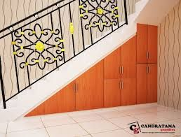 interior kediri - interior malang - interior nganjuk - interior jombang - interior blitar - interior tulungagung - interior trenggalek - lemari bawah tangga - rak - minimalis - modern