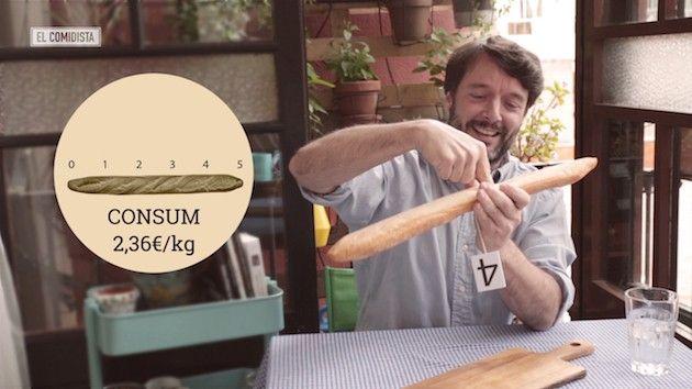 Nuestro especialista en panes Ibán Yarza cata a ciegas baguettes de supermercados y cadenas como Mercadona, Lidl o Granier. Su veredicto es demoledor  sólo una aprueba.