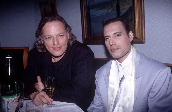 David Gilmore and Freddie Mercury