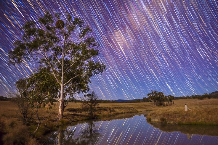 A beautiful, crisp Winter's night in Northern New South Wales. #startrails #winter