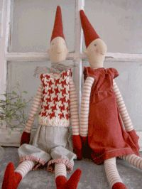 In Scandinavia, a Pixie or Nisse, is a household spirit that is responsible for the care and prosperity of a farm or family.  Keep your Nisse happy with a bowl of porridge with butter left out on Christmas Eve.