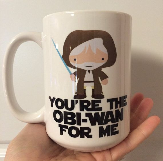 Star Wars Obi-Wan You're the Obi-Wan for Me Coffee by embeemugs