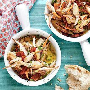 Smoky, Buttery Crab Claws Recipe | MyRecipes.com