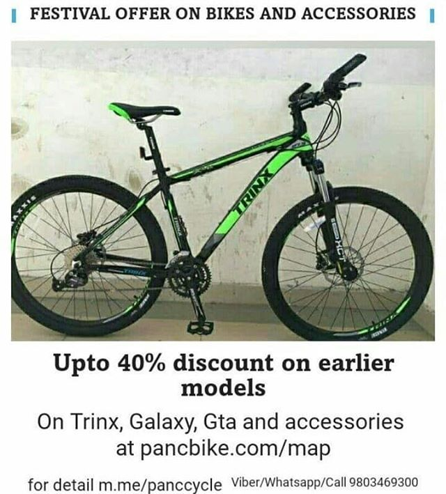 Pancbike I Festival Offer On Bikes And Accessories Upto 40