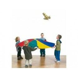 Parachute, jeu cooperatif